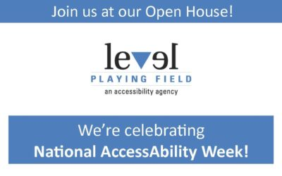 National AccessAbility Week Open House!