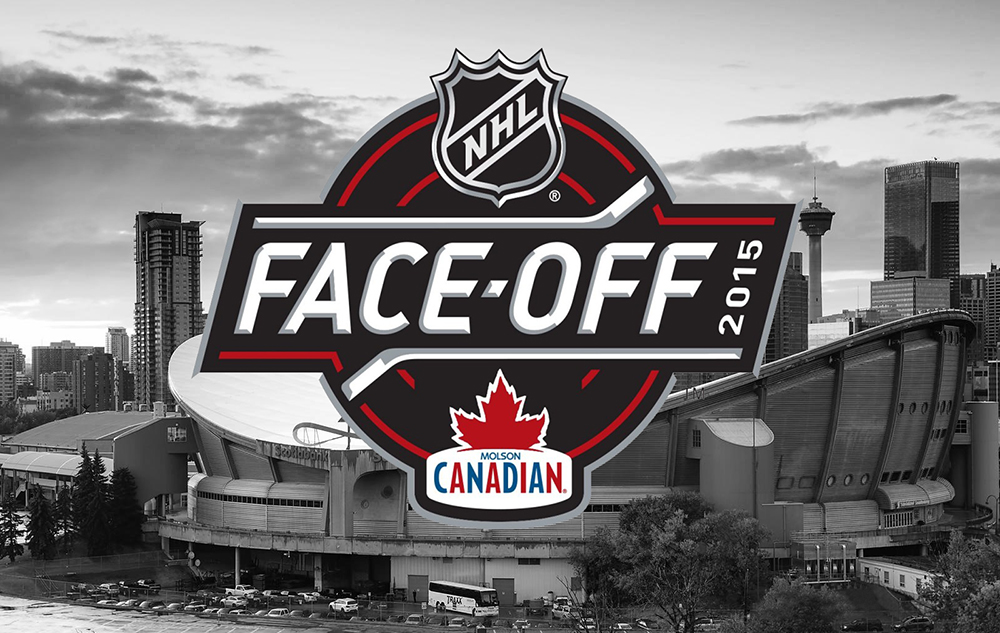 Photo of Molson Canadian NHL Face-Off Level Playing Field Client: Union Events