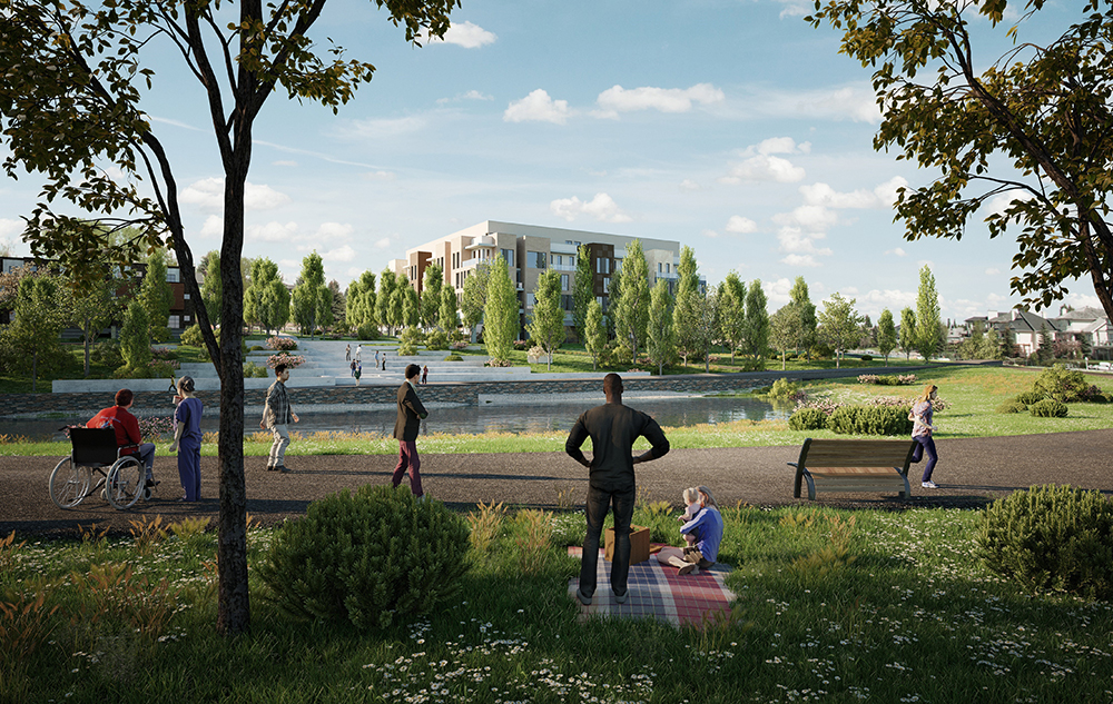 Photo of University District Level Playing Field Client: West Campus Development Trust