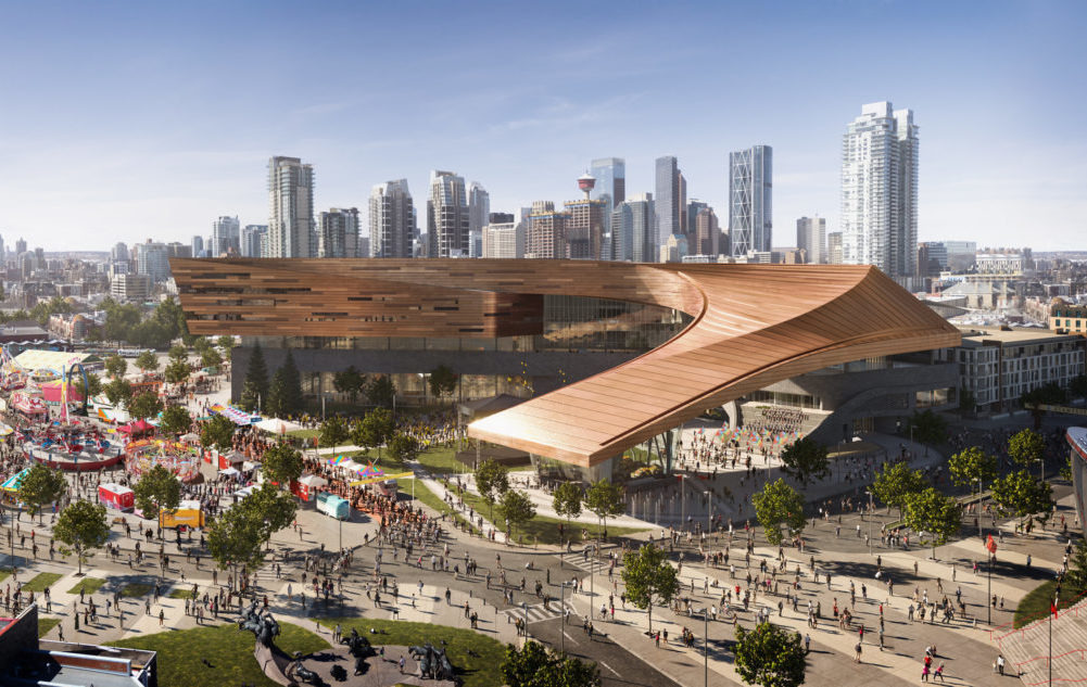 Photo of Calgary Stampede BMO Expansion Level Playing Field Client: Stantec/Populous/S2 Architecture