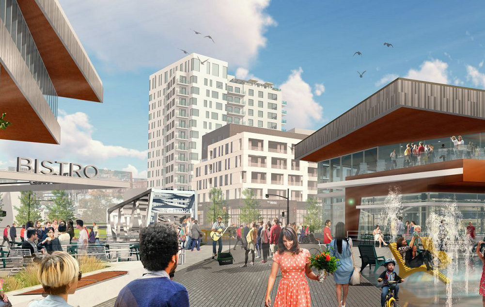 Photo of University District Block 23 & Central Park Level Playing Field Client: University of Calgary Properties Group